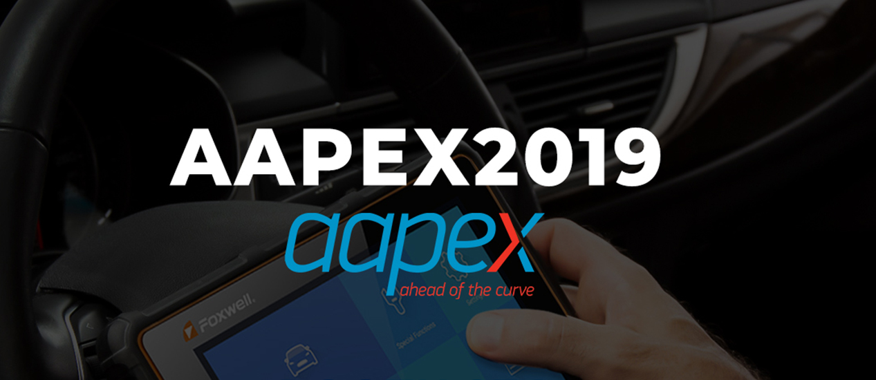FOXWELL in AAPEX Automotive Aftermarket Products Expo 2019