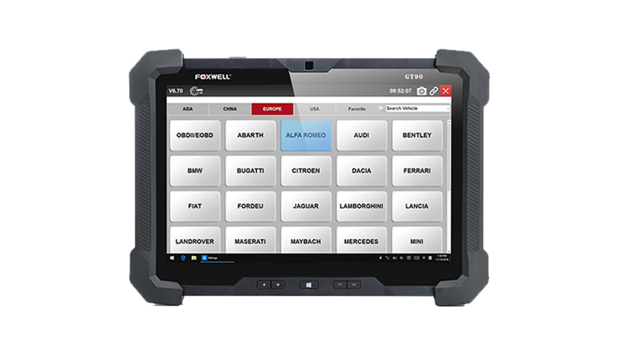 Automotive Diagnostic Platform Generation Ⅲ