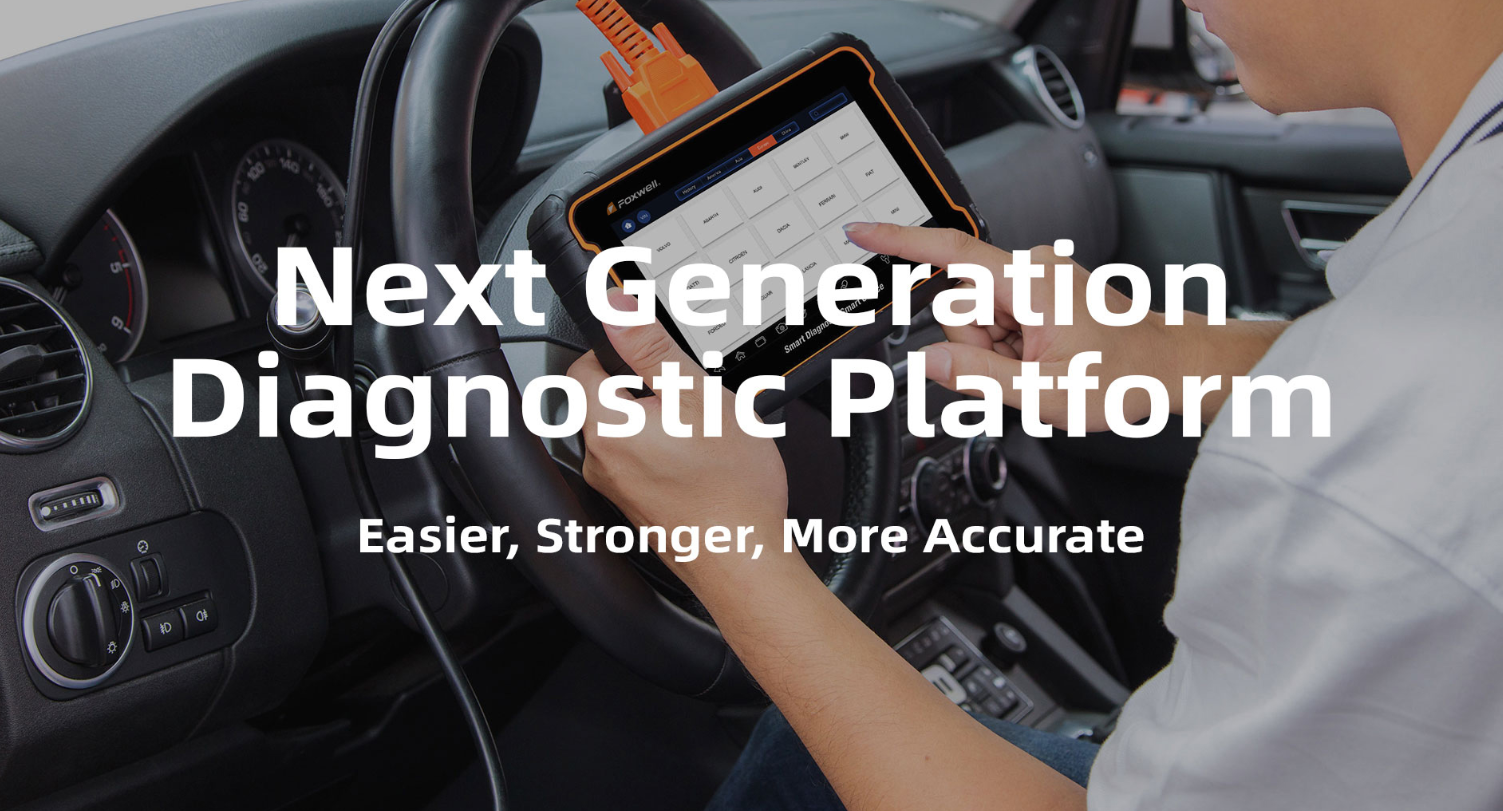 Foxwell Released Next Generation Diagnostic Platform i70​