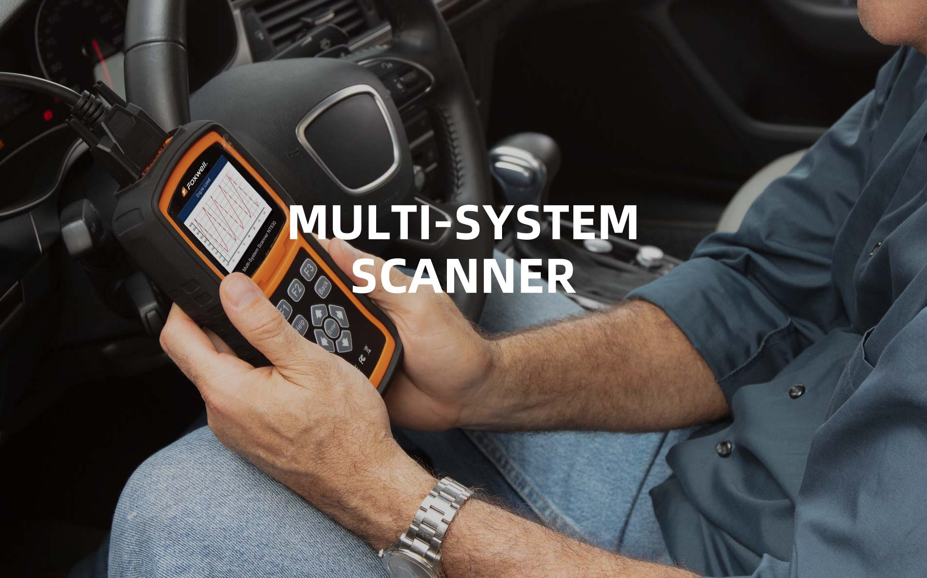 Foxwell Released A Professional Multi-System Scanner NT530