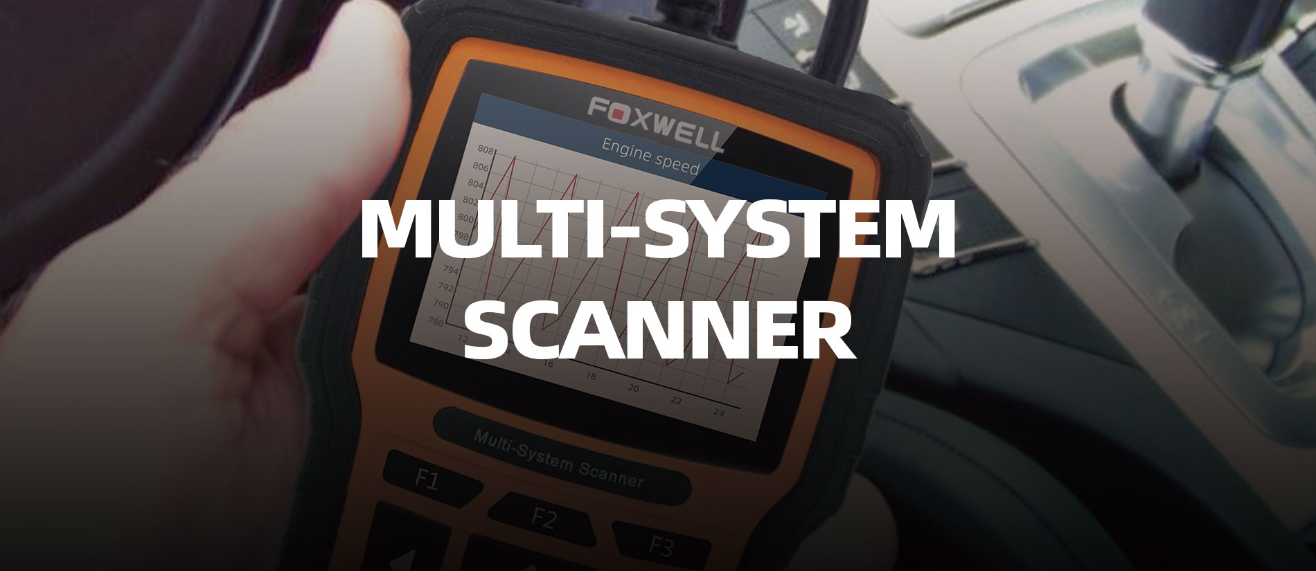 Foxwell Released A Professional Multi-System Scanner NT510Elite