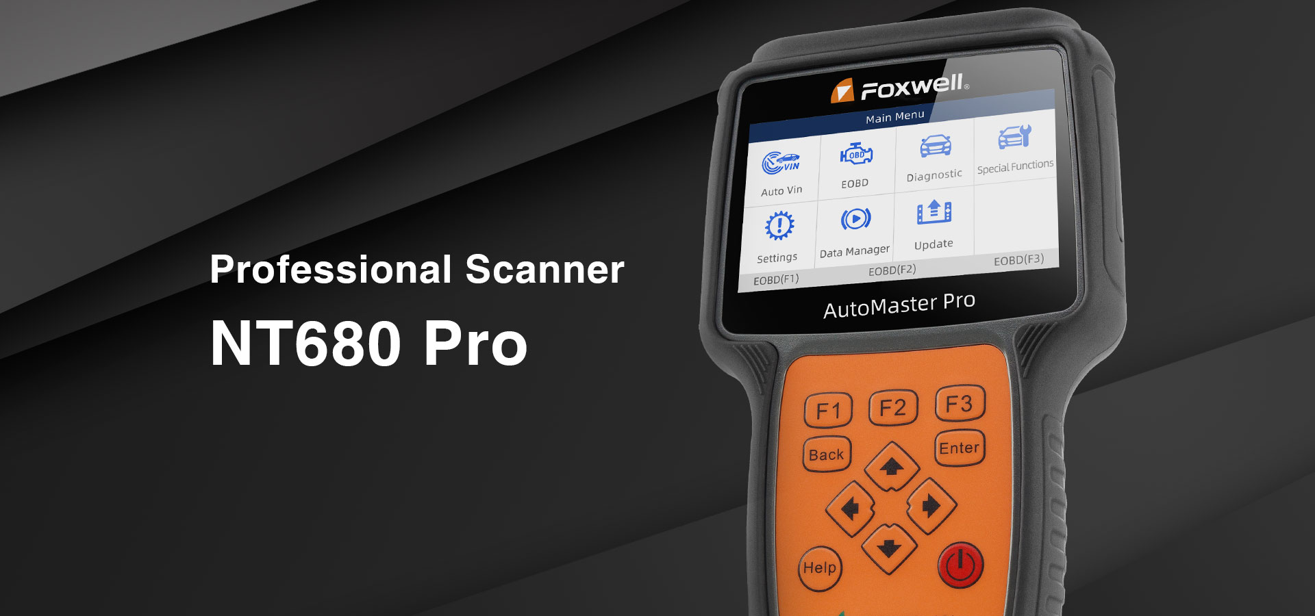 Foxwell Released A Professional  Scanner NT680 Pro