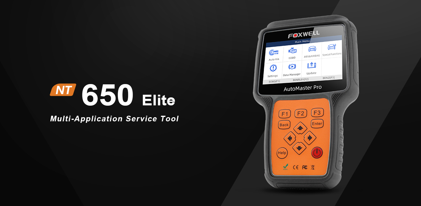 Foxwell Released A Professional Multi-function service tool- NT650Elite