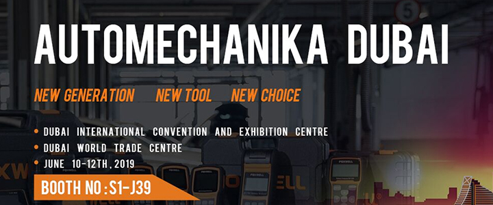 Foxwell attended Automechanika Dubai