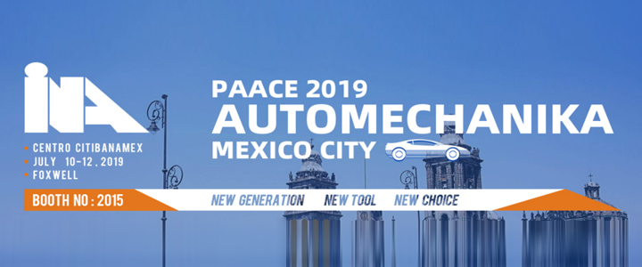 Welcome to Join Foxwell at Automechanika Mexico City, 10th - 12th July, 2019